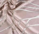Jacquard organza lame rosa