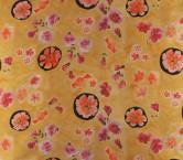 Estampado coral rosa beige