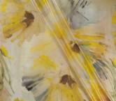Gasa laminada flor azul