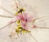 Pink estampado flor 584 pano