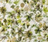 Estampado flor menaggio verde