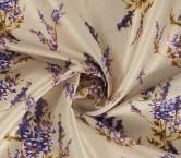 Jacquard textura estampado lilas