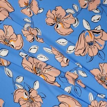 Estampado pl e0084 rosa lavanda