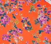 Estampado flor esp. 177 multicolor coral fuxia