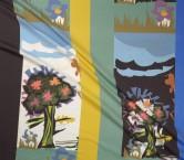 Estampado flor pano 118 cm multicolor