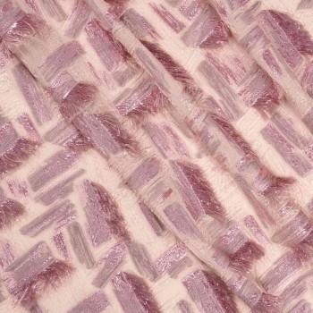 Jacquard flecos lame =2462 rosa